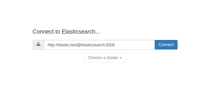 elastichq connecting with elasticsearch screenshot