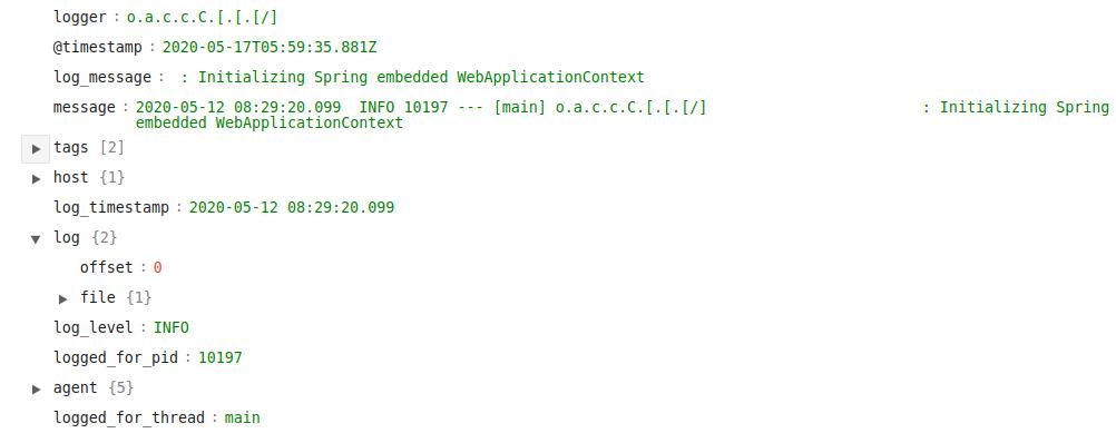parsed thread elastichq screenshot