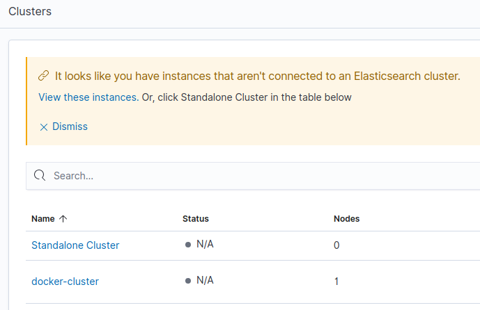monitor Elastic Stack clusters
