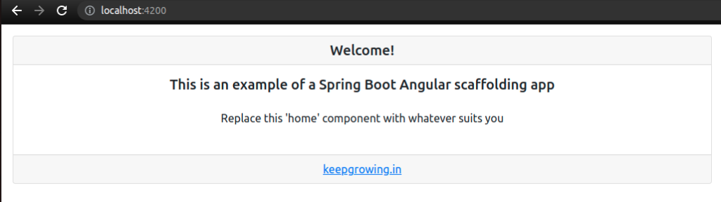 Angular app with Bootstrap styles