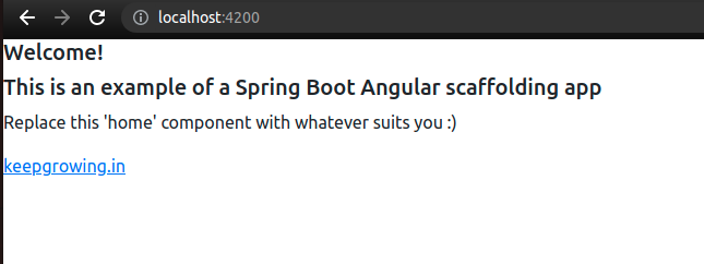 an example Angular app without Bootstrap and ng-bootstrap